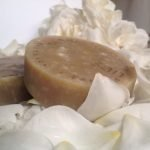 natural soap made with apple cider